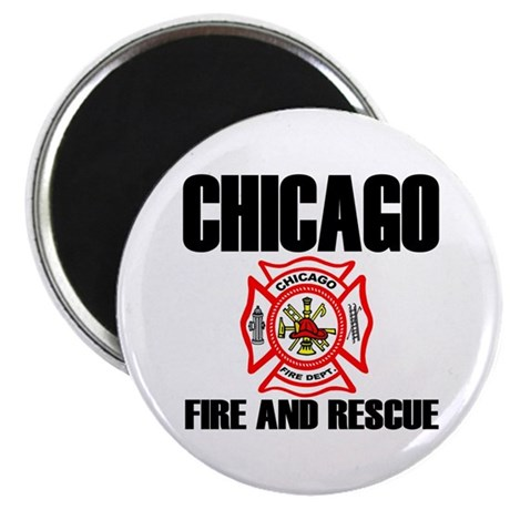 """Chicago Fire Department 2.25"""" Magnet (10 pack)"""