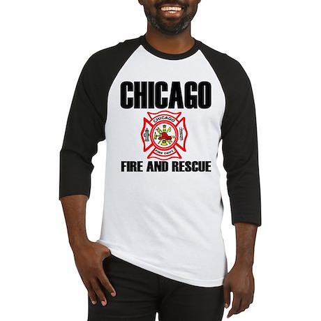 Chicago Fire Department Baseball Jersey