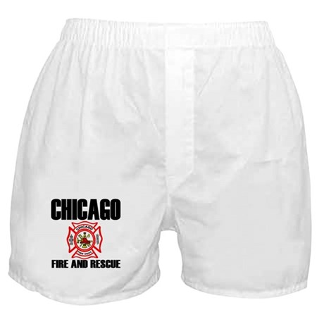 Chicago Fire Department Boxer Shorts