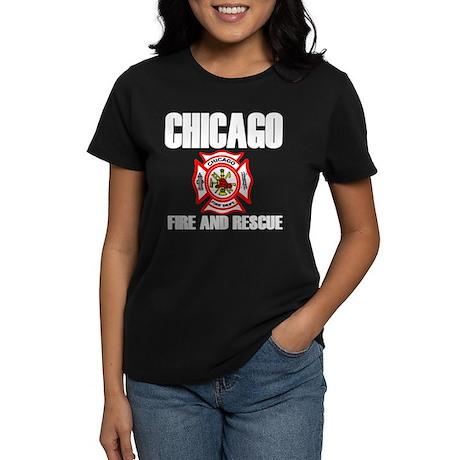 Chicago Fire Department Women's Dark T-Shirt