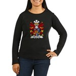 Rawlins Family Crest Women's Long Sleeve Dark T-Sh