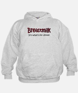 Breastmilk for dinner Hoodie