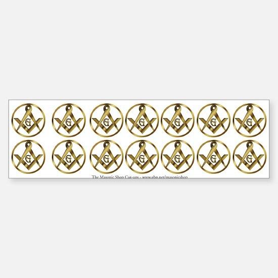 14 Masonic Circle Stickers