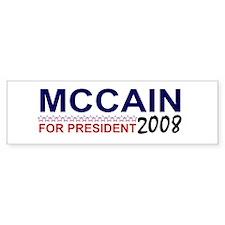 McCain for President Bumper Bumper Sticker