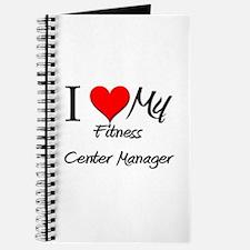 I Heart My Fitness Center Manager Journal