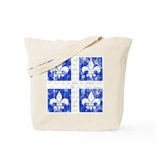 Quebec Fleur-de-lis Tote Bag