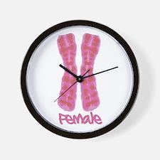 XX Female Wall Clock