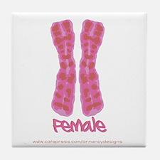 XX Female Tile Coaster