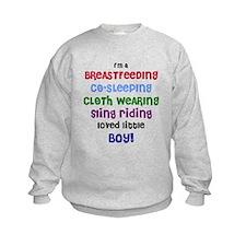 Loved little boy Sweatshirt