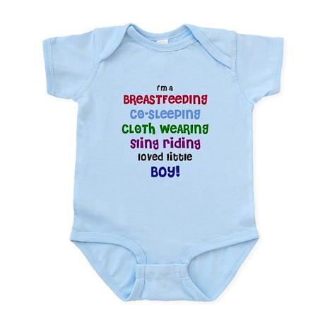 Loved little boy Infant Bodysuit