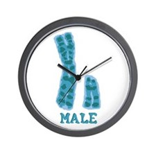 XY Male Wall Clock