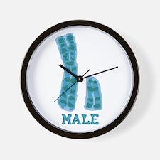 XY Male Wall Clock