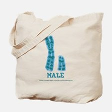 XY Male Tote Bag