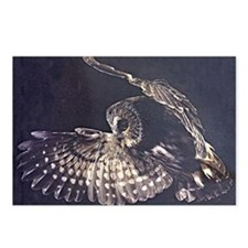 Unique Tawny owl Postcards (Package of 8)