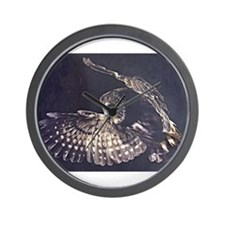 Cool Barn owl Wall Clock