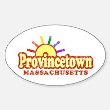 Sunny Gay Provincetown, Massachusetts Decal