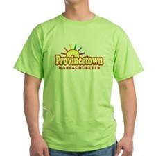 Sunny Gay Provincetown, Massachusetts T-Shirt
