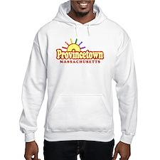 Sunny Gay Provincetown, Massachusetts Hoodie