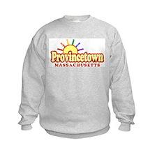 Sunny Gay Provincetown, Massachusetts Sweatshirt