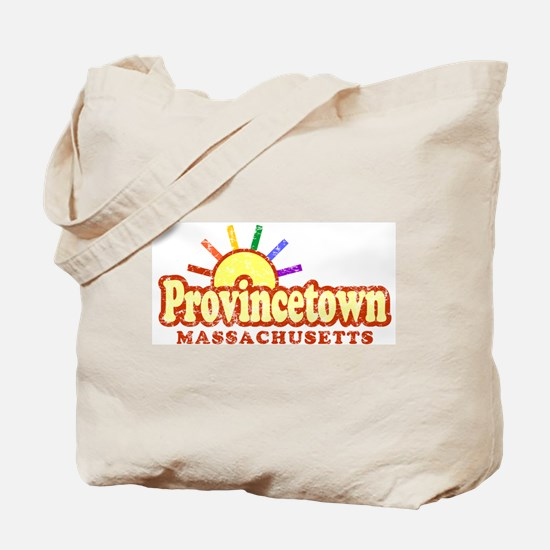 Sunny Gay Provincetown, Massachusetts Tote Bag