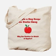 Fear of Apples Tote Bag