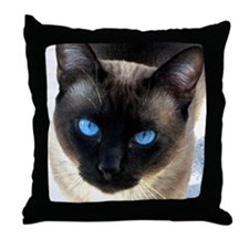 Siamses cat - Throw Pillow