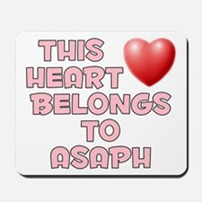 This Heart: Asaph (F) Mousepad