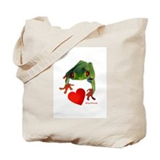 I Love Tree Frogs Tote Bag