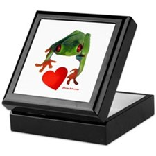 I Love Tree Frogs Keepsake Box