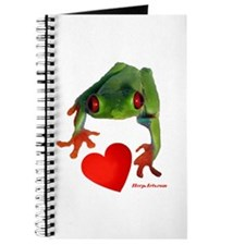 I Love Tree Frogs Journal