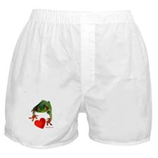 I Love Tree Frogs Boxer Shorts