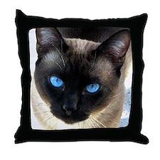 Siamese cat - Throw Pillow