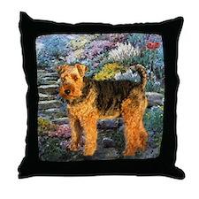 Welsh Terrier Lovers Throw Pillow