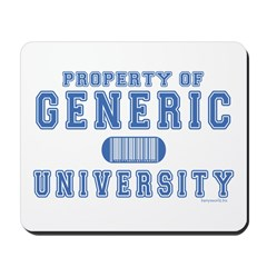 Generic University Mousepad