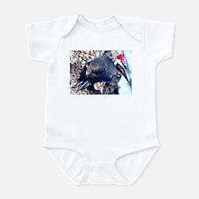 Pileated Woodpecker Infant Bodysuit
