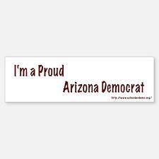 Proud Arizona Democrat Bumper Bumper Bumper Sticker