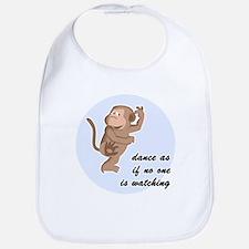 Dancing Monkey Bib