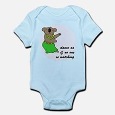 Dancing Koala Infant Bodysuit