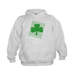Celtic Shamrock Slainte Hoodie