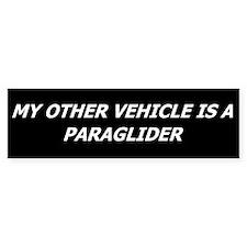Paraglider Bumper Bumper Sticker