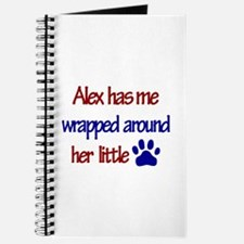 Alex - Has Me Wrapped Around Journal