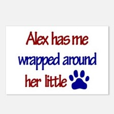 Alex - Has Me Wrapped Around Postcards (Package o