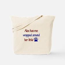 Alex - Has Me Wrapped Around Tote Bag