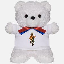 Banjo Monkey Teddy Bear