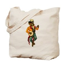Banjo Monkey Tote Bag
