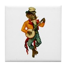 Banjo Monkey Tile Coaster