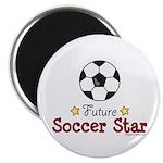 Future Soccer Star Soccer Magnet