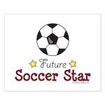 Future Soccer Star Soccer Small Poster