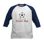 Future Soccer Star Soccer Kids Baseball Jersey
