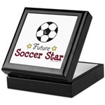 Future Soccer Star Soccer Keepsake Box